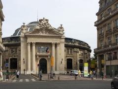 Bourse de commerce -  Bourse de commerce, Paris.