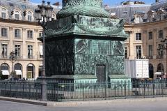 Colonne Vendôme - English: Colonne Vendôme, Vendôme place in Paris