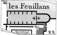 Ancien couvent des Feuillants - French engraver