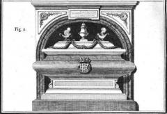 Ancien couvent des Feuillants -  Tombeau de Jeanne-Armande de Schomberg aux Feuillants.