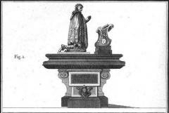 Ancien couvent des Feuillants -  Tombeau de Raymond Phélypeaux aux Feuillants.