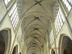 Eglise Saint-Germain-l'Auxerrois - Français:   Paris, France. EGLISE SAINT GERMAIN L\'AUXERROIS (Interior-plaphon) (PA00085796)
