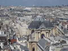 Eglise Saint-Roch -  Paris from the Tuileries Ferris Wheel.