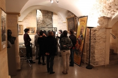 Ancien hôtel de la Porte, actuellement musée du Barreau de Paris - English: Workshop on public domain at the Museum of the Barreau of Paris during the Festival of the public domain 2015 in Paris, France.