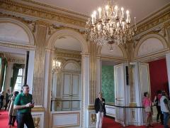 Ancien hôtel Saint-Florentin, puis hôtel de Talleyrand, actuellement consulat des Etats-Unis - Français:   Hôtel de Saint-Florentin - Grand cabinet