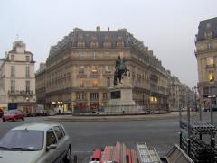 Place des Victoires : le sol -