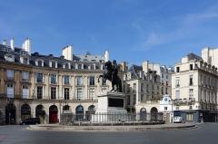 Place des Victoires : le sol -  Place de la Victoire @ Paris