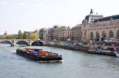 Pont-Royal -  Musée d'Orsay and Pont Royal, Paris.