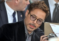 Cinéma Rex - English: Robert Downey Jr. in Paris at the French premiere of