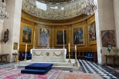 Eglise Notre-Dame-de-Bonne-Nouvelle - English:   Notre-Dame-de-Bonne-Nouvelle, located at 25 Rue de la Lune, in the 2nd arrondissement of Paris and is a Catholic parish church built between 1823 and 1830. It is dedicated to Notre-Dame de Bonne-Nouvelle, referring to the Annunciation.