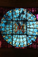 Eglise Notre-Dame-de-Bonne-Nouvelle - Deutsch:   Bleiglasfenster in der katholischen Pfarrkirche Notre-Dame-de-Bonne-Nouvelle in Paris
