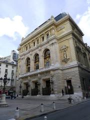 Théâtre de l'Opéra-Comique, dit salle Favart - English: Boïeldieu place (opéra-comique) - Paris