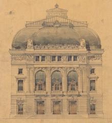 Théâtre de l'Opéra-Comique, dit salle Favart - French architect