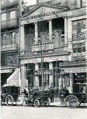 Théâtre des Variétés - English: The Théâtre des Variétés in Paris around 1900.