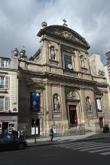 Eglise Sainte-Elisabeth - Deutsch: Katholische Pfarrkirche Ste-Élisabeth im 3. Arrondissement in Paris (Île-de-France/Frankreich)
