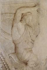 Ancien hôtel de Saint-Aignan (ou hôtel d'Avaux, de Rochechouart, d'Asnières), actuellement musée d'art et d'histoire du Judaïsme - Deutsch: Hôtel de Saint-Aignan, 71, rue du Temple im 3. Arrondissement von Paris, ehemaliges Speisezimmer mit Wandmalereien, vor 1650, Rémy Vuibert (1600−1652) zugeschrieben
