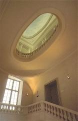 Ancien hôtel de Saint-Aignan (ou hôtel d'Avaux, de Rochechouart, d'Asnières), actuellement musée d'art et d'histoire du Judaïsme - English: The Stairway of Honour, Hôtel de Saint-Aignan - Musée d'Art et d'Histoire du Judaïsme