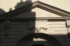 Maison dite aussi Hôtel d'Ecquevilly ou du Grand Veneur - Deutsch: Hôtel du Grand-Veneur in der Rue de Turenne n° 60 im 3. Arrondissement in Paris (Île-de-France/Frankreich)