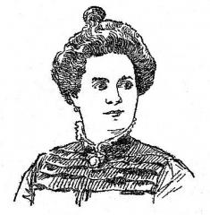 Marché du Temple - Français:   Jeanne Baille Reine du Temple en 1901. http://gallica.bnf.fr/ark:/12148/bpt6k615647q/f2.image.langFR
