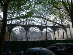 Marché du Temple - English: Carreau du Temple (works en 2011) - Paris