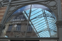 Marché du Temple - Deutsch: Carreau du Temple, ehemalige Markthalle, im 3. Arrondissement in Paris (Île-de-France/Frankreich)