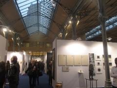 Marché du Temple - Français:   Vernissage Young International Art Fair 18 octobre 2018. Carreau du Temple.