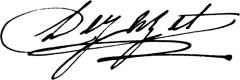 Théâtre Dejazet - English: Virginie Dejazet signature
