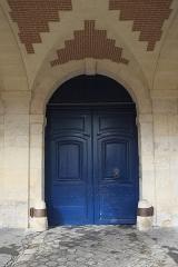 Ancien Hôtel Marchand - Deutsch: Hôtel Marchand, 15 Place des Vosges, im 4. Arrondissement in Paris (Île-de-France/Frankreich), Tür