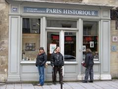 Hôtel d'Ourscamp ou de Marsande, dit aussi Maison de l'Ours -  Paris historique, Rue François-Miron, Paris.