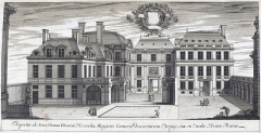 Immeuble - French graphic artist, engraver and architect