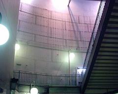 Métropolitain, station Cité -  Escalier d'entrée de la station de la Cité du Métropolitain de Paris.