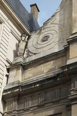 Monastère des Blancs-Manteaux - Deutsch: Katholische Pfarrkirche Notre-Dame-des-Blancs-Manteaux im 4. Arrondissement in Paris (Île-de-France/Frankreich)
