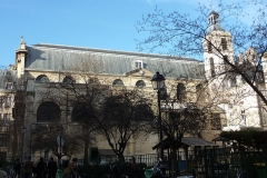 Monastère des Blancs-Manteaux - Deutsch: Katholische Kirche Notre-Dame-des-Blancs-Manteaux im 4. Arrondissement in Paris