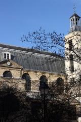 Monastère des Blancs-Manteaux - Deutsch: Katholische Kirche Notre-Dame-des-Blancs-Manteaux im 4. Arrondissement in Paris, Ansicht von Osten
