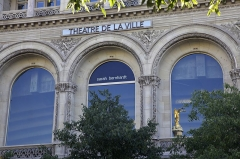Théâtre de la Ville -  Théâtre de la Ville, Paris.