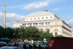 Théâtre de la Ville - English: Theatre de la ville de Paris (France), Chatelet square