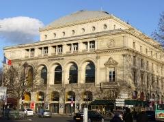 Théâtre de la Ville - English: Theatre de la Ville, Chatelet square, Paris