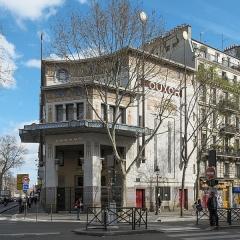 Cinéma Le Louxor - Deutsch: Kino Le Louxor, 170 boulevard Magenta/boulevard de la Chapelle, im 10. Arrondissement in Paris (Île-de-France/Frankreich)