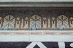 Cinéma Le Louxor - Deutsch: Mosaik am Kino Le Louxor in Paris, 170 boulevard Magenta/ boulevard de la Chapelle
