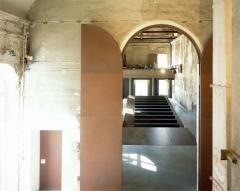 Ancien couvent des Récollets ou ancien hôpital Villemin - English:   Maison de l\'architecture,  Chartier-Corbasson architectes, Paris, 2004