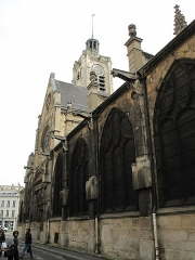 Eglise Saint-Laurent - English: View from north-west of the church of Saint-Laurent in Paris 10th arrond.