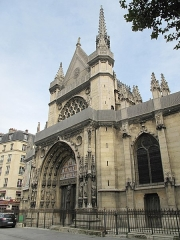 Eglise Saint-Laurent - English: View from south-west of the church of Saint-Laurent in Paris 10th arrond.