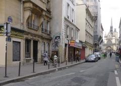 Eglise Saint-Laurent - Français:   Rue de la Fidélité - Paris X