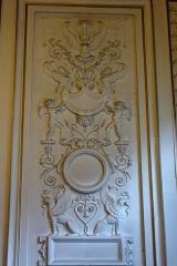 Hôtel Gouthière - Deutsch: Hôtel Gouthière in Paris (10. Arrondissement), Relief im Zentralbaus