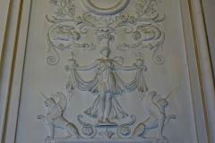 Hôtel Gouthière - Deutsch: Hôtel Gouthière in Paris (10. Arrondissement), Relief im Zentralbau