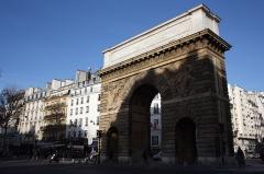Porte Saint-Martin - Deutsch:   Porte Saint-Martin im 10. Arrondissement von Paris, Ansicht von Südosten