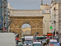 Porte Saint-Martin -  Paris, France