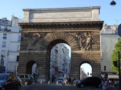 Porte Saint-Martin -  Paris, porte St Martin