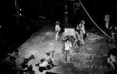 Théâtre de la Porte-Saint-Martin -  Párizs, Théâtre de la Porte Saint-Martin, a Hair című musical előadása.  Tags: theater, stage