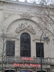 Théâtre de la Porte-Saint-Martin - Français:   Théâtre de la Porte-Saint-Martin à Paris Xe.
